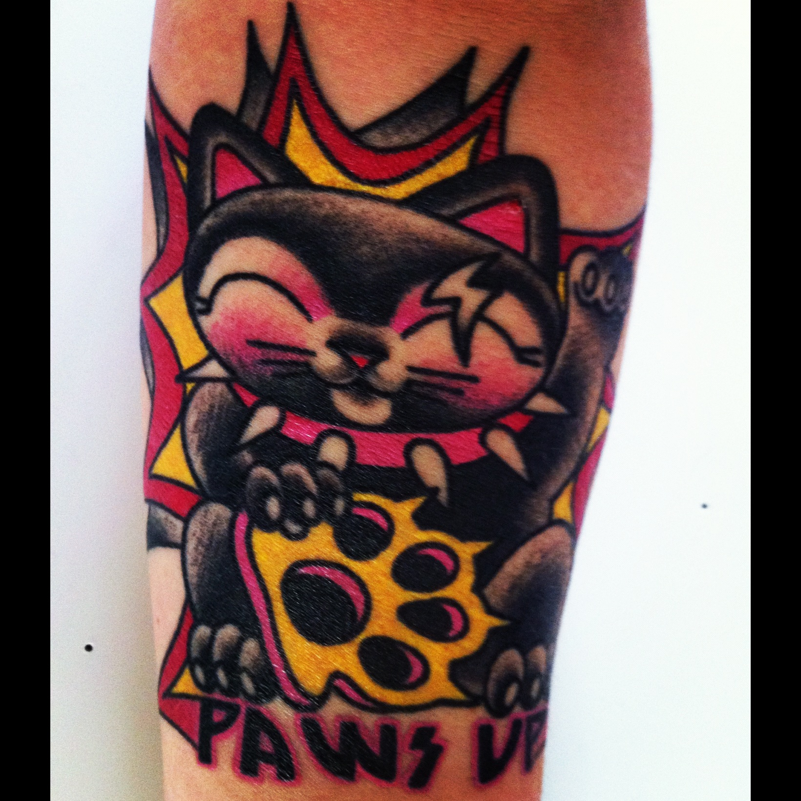 Crazy cat lady and a circus freak meow hear this for Cat lady tattoo