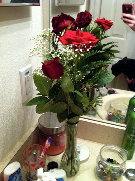 Yup. These are in my bathroom. Right next to my toothbrush.